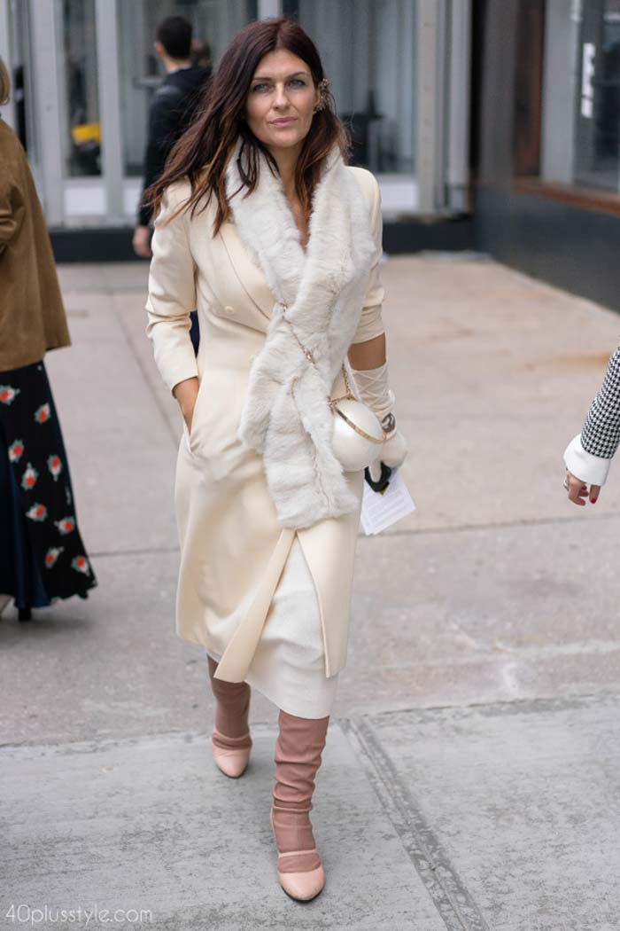 The best street style looks from New York fashion week | 40plusstyle.com