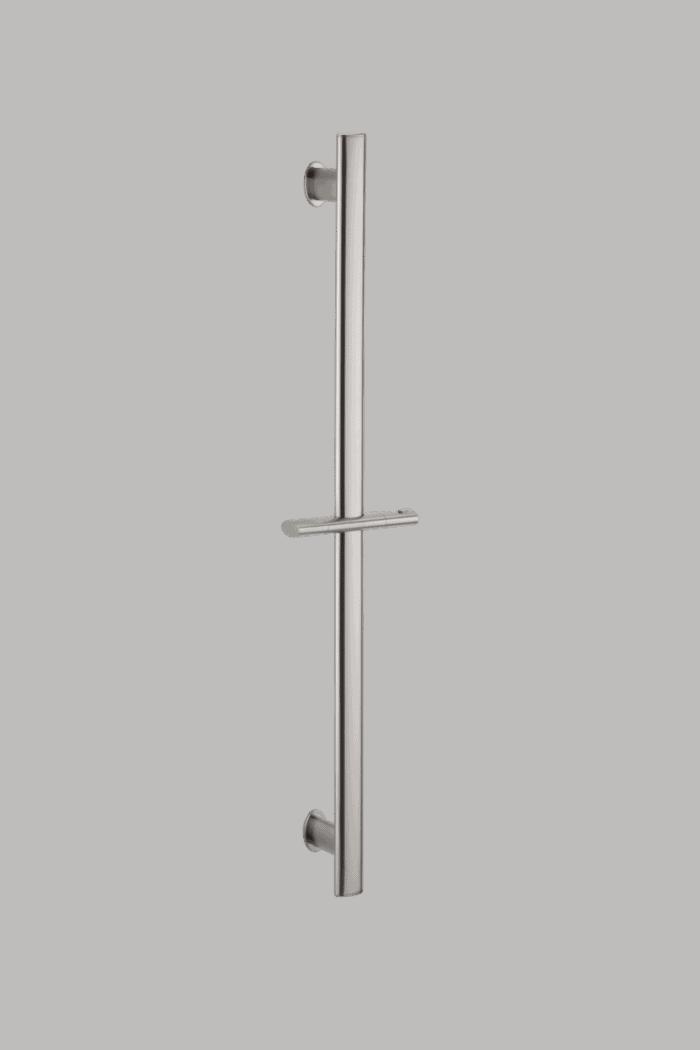 Uri Oval Shower Rail - Brushed Nickel