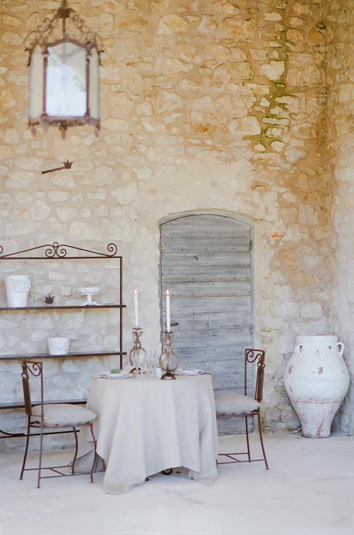 Romantic Dinner At Le Clos Saint Esteve At Tamara Gruner Workshops