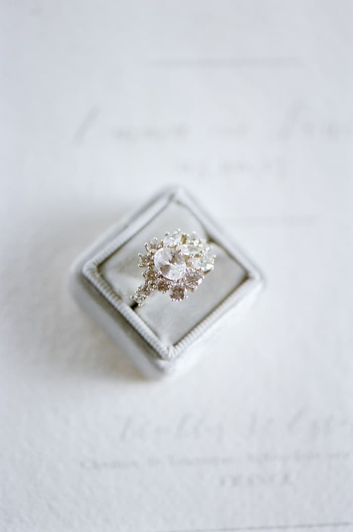 Engagement Ring From Susie Saltzman At Le Clos Saint Esteve At Tamara Gruner Workshops