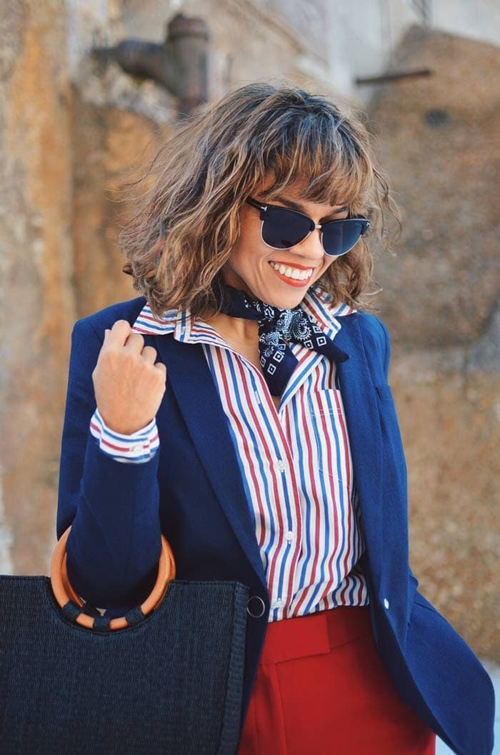 Carelia's French inspired look | 40plusstyle.com