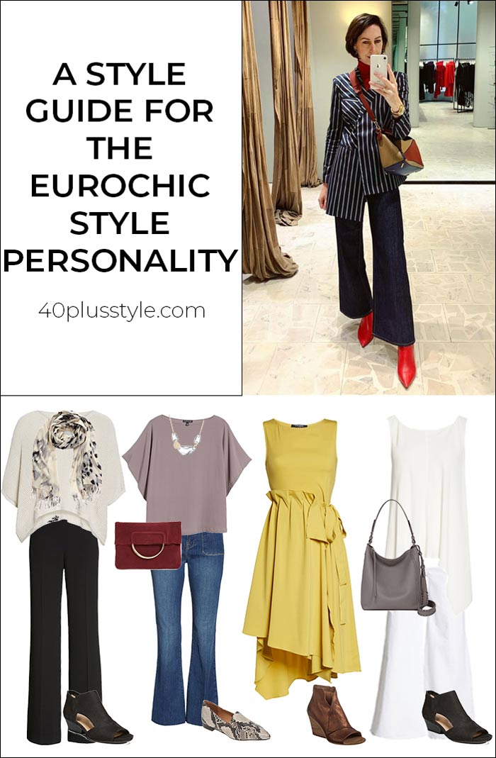 A style guide for the eurochic style personality | 40plusstyle.com