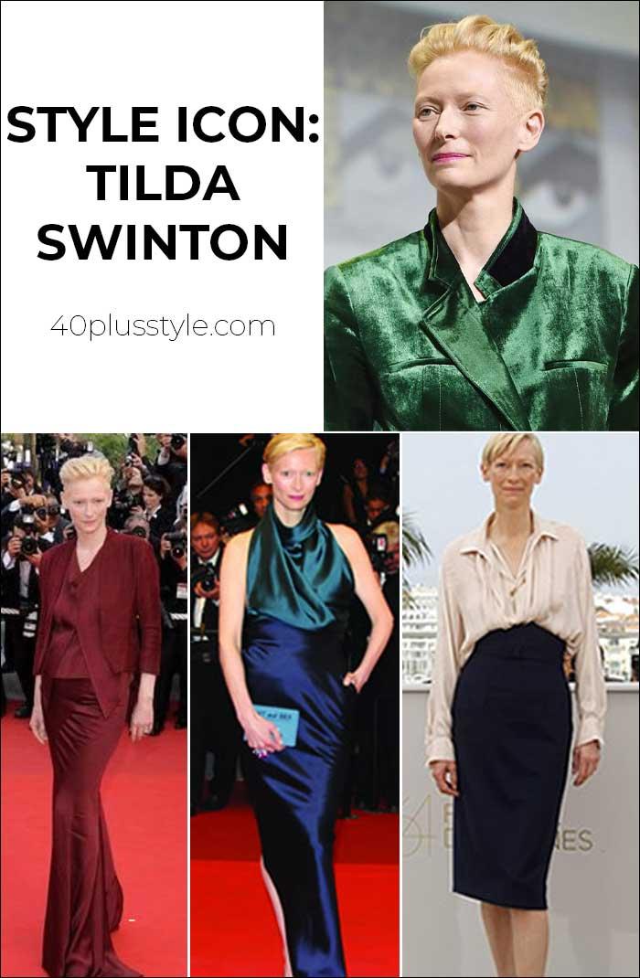 40+ Style icon: Tilda Swinton | 40plusstyle.com