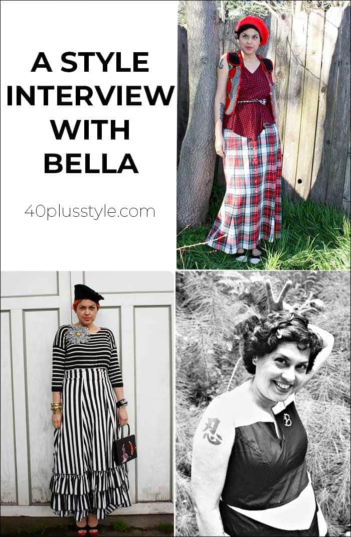 A style interview with Bella | 40plusstyle.com