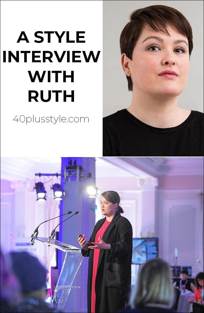 A style interview with Ruth | 40plusstyle.com