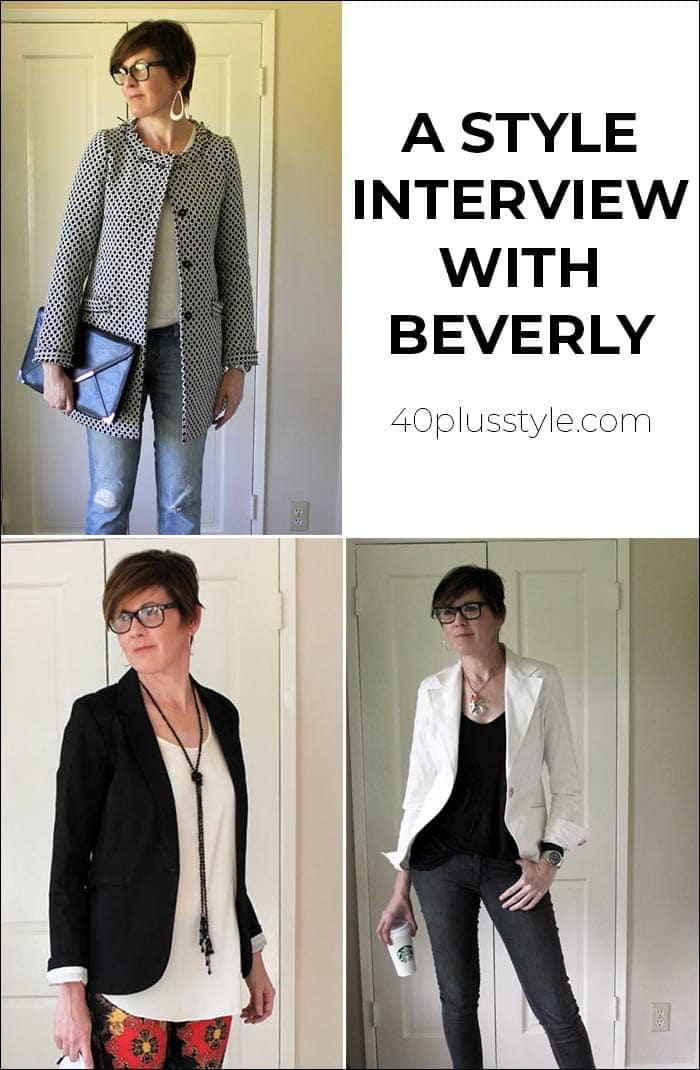 A style interview with Beverly | 40plusstyle.com