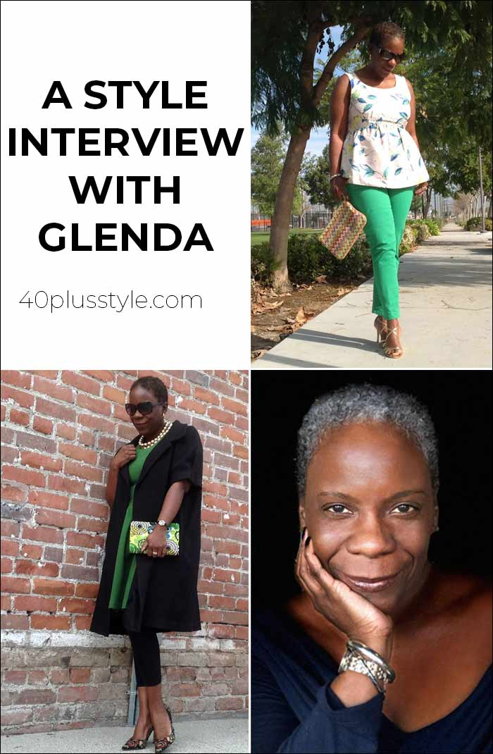 A style interview with Glenda | 40plusstyle.com