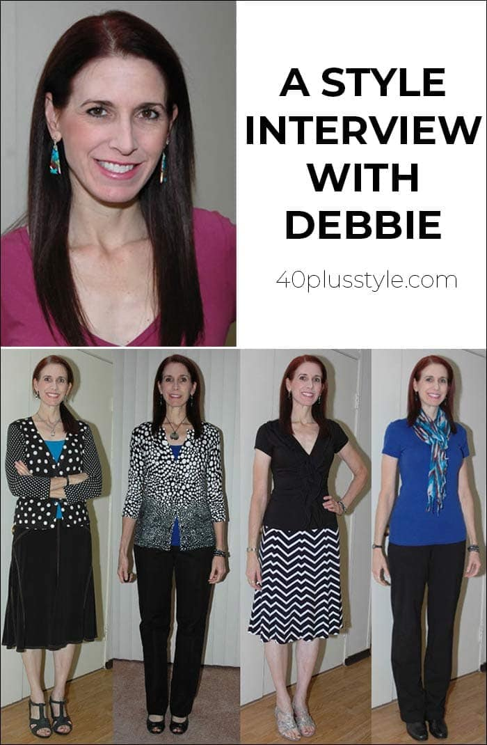 A style interview with Debbie | 40plusstyle.com