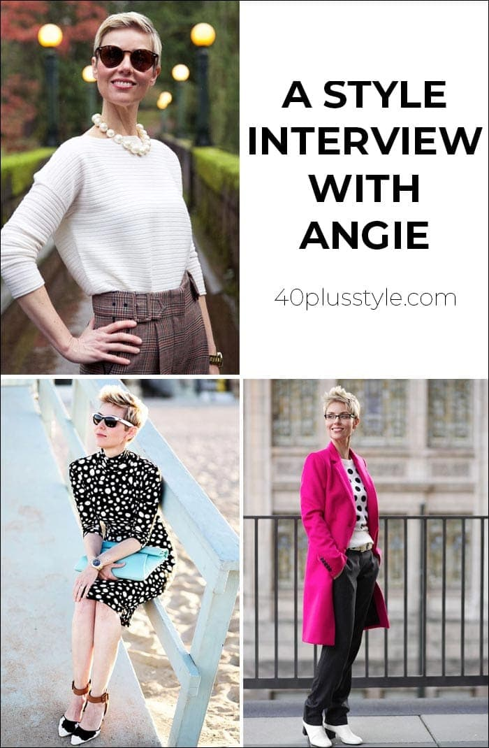 A style interview with Angie | 40plusstyle.com