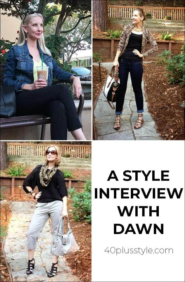A style interview with Dawn | 40plusstyle.com