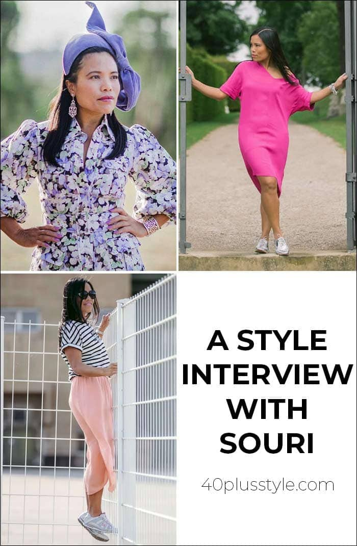 A style interview with Souri | 40plusstyle.com
