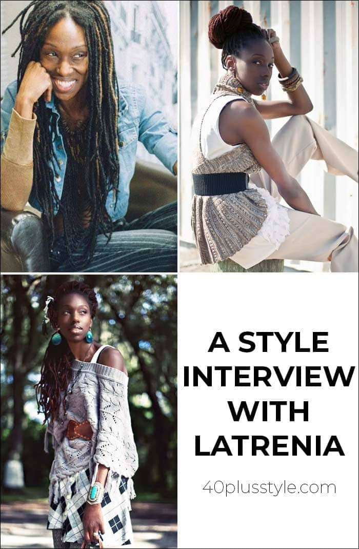 A style interview with Latrenia | 40plusstyle.com
