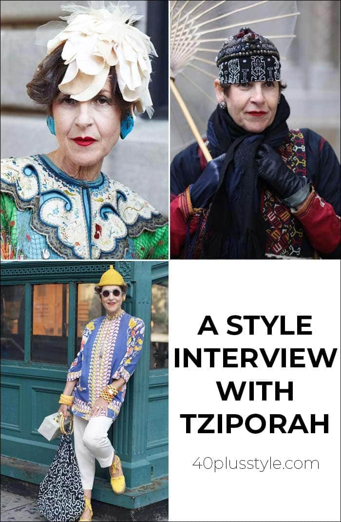 A style interview with Tziporah | 40plusstyle.com