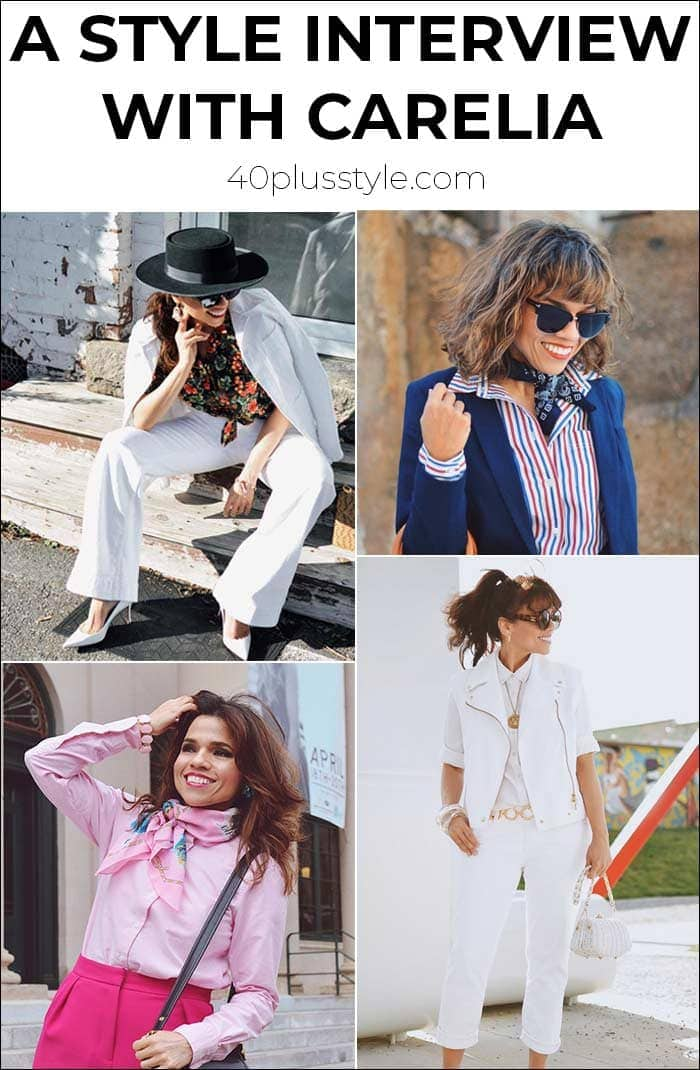 How to mix vintage with trends - a style interview with Carelia | 40plusstyle.com