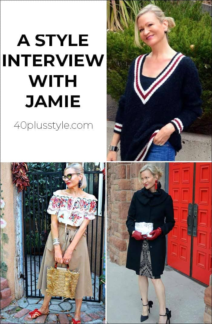 A style interview With Jamie | 40plusstyle.com
