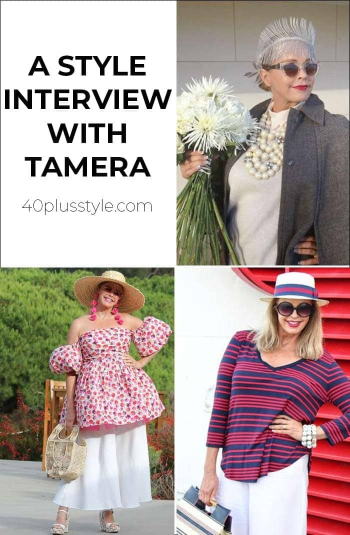 A style interview with Tamera | 40plusstyle.com