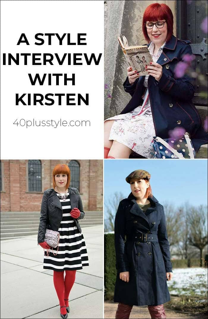 A style interview with Kirsten | 40plusstyle.com