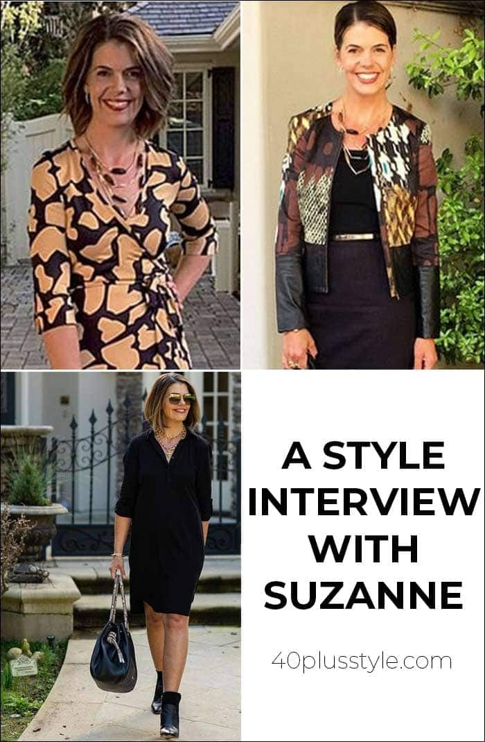 A style interview with Suzanne | 40plusstyle.com