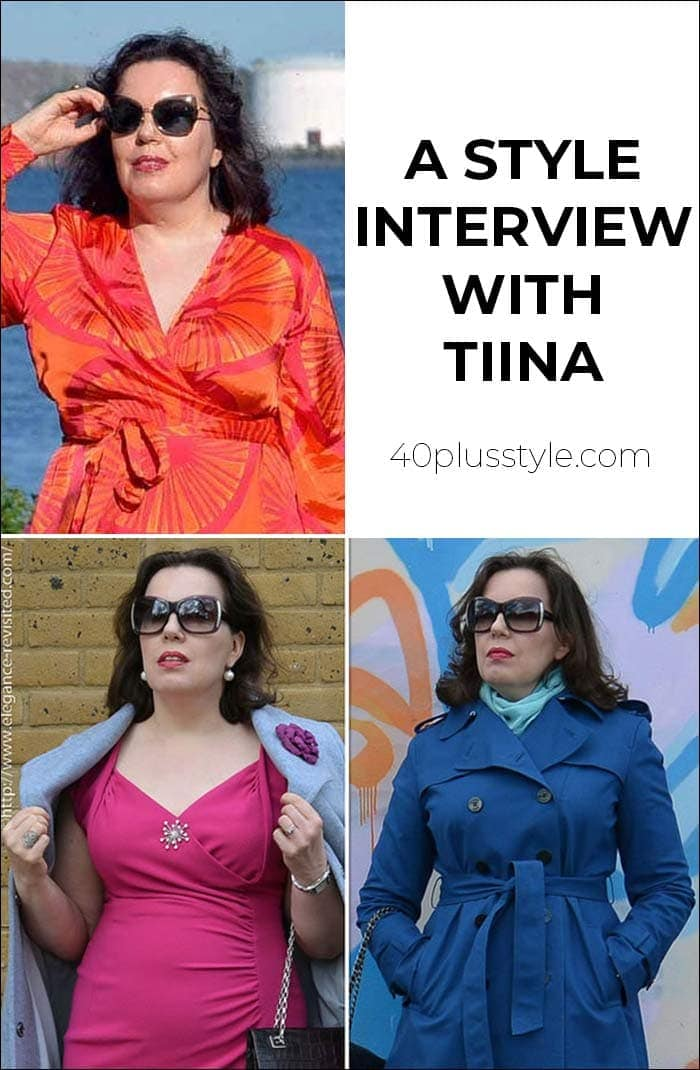 A style interview with Tiina | 40plusstyle.com