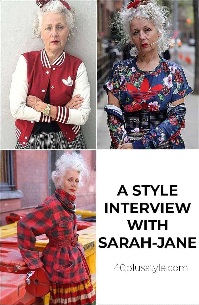 A style interview with Sarah-Jane | 40plusstyle.com