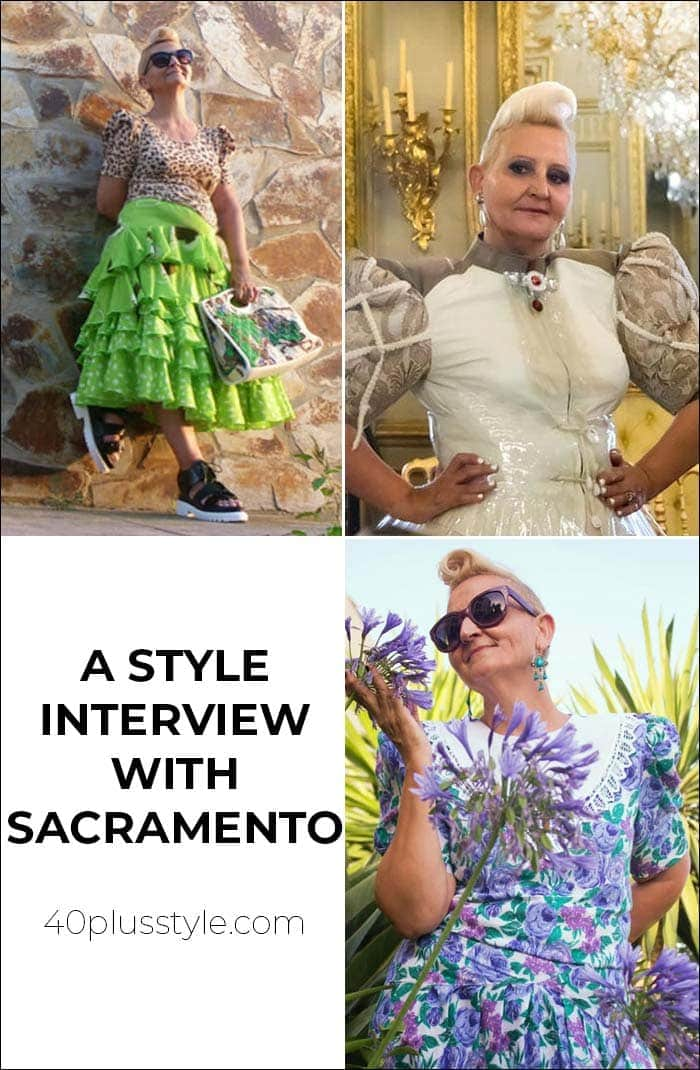 A style interview with Sacramento | 40plusstyle.com