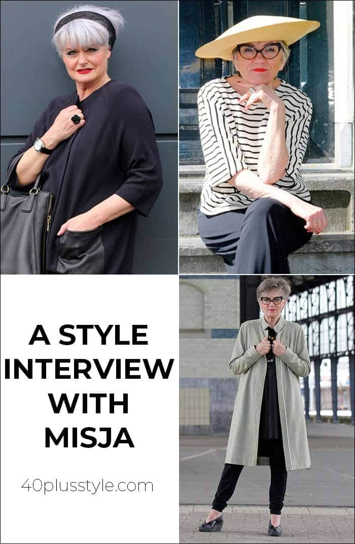 A style interview with Misja | 40plusstyle.com