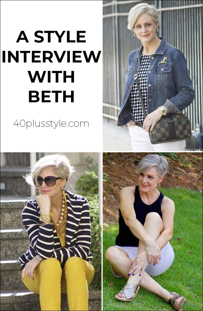 A style interview with Beth | 40plusstyle.com