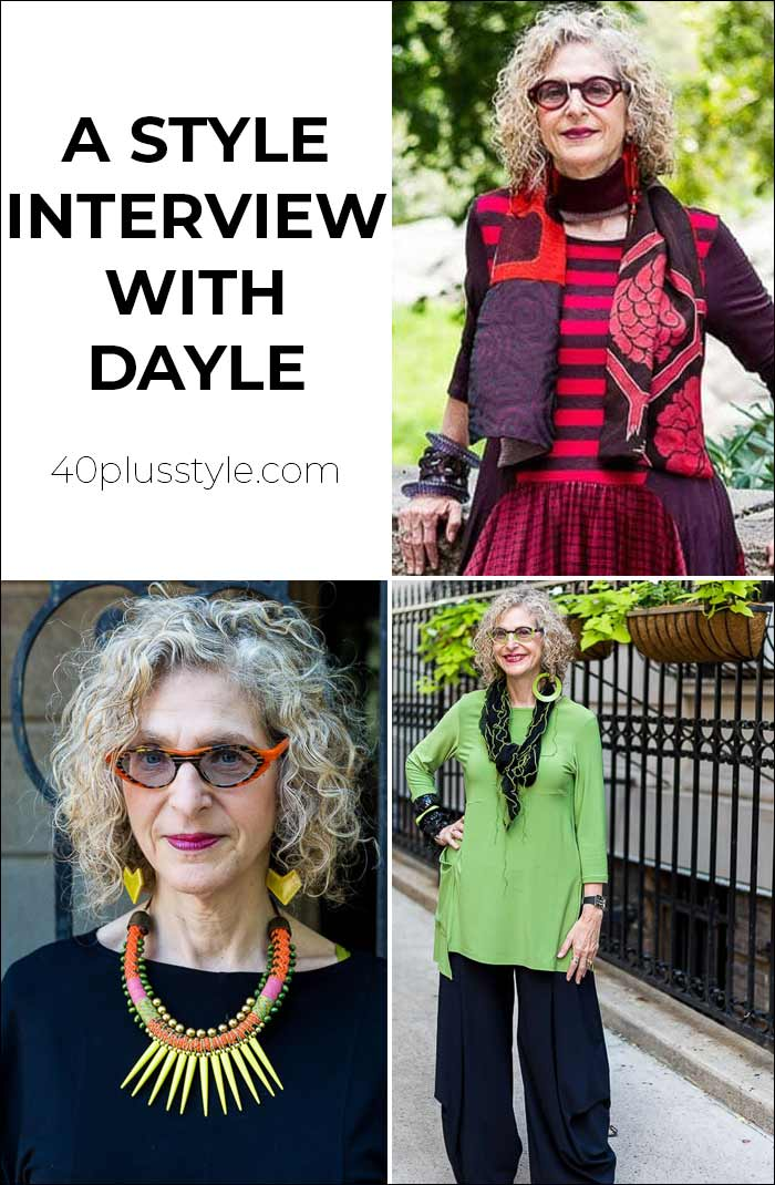 A style interview with Dayle | 40plusstyle.com