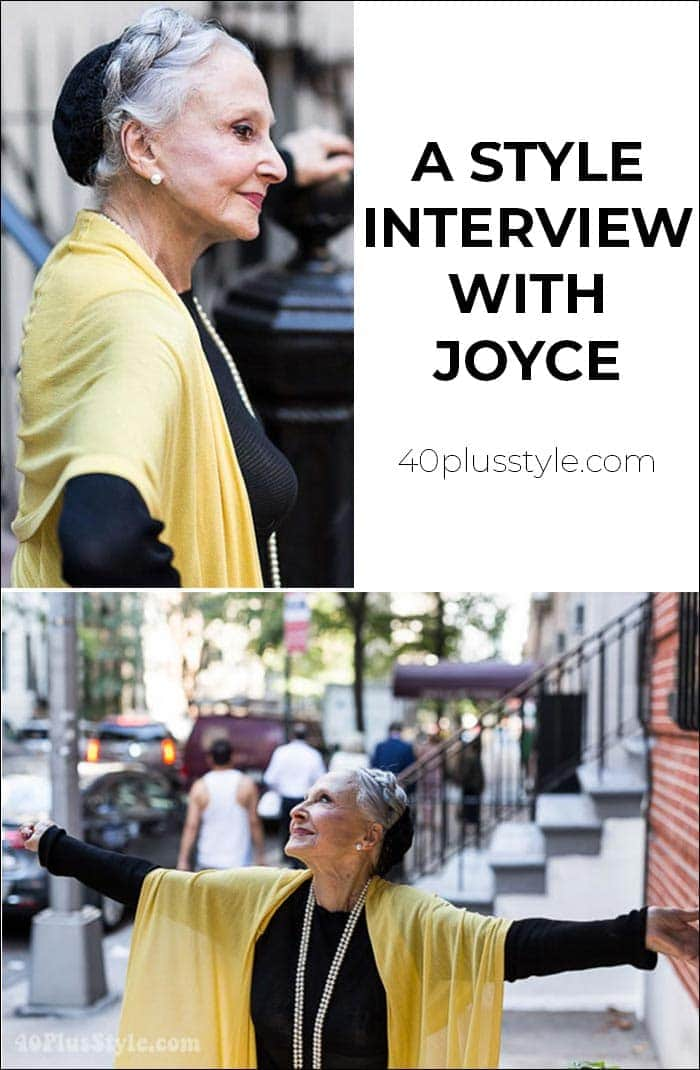 A style interview With Joyce | 40plusstyle.com
