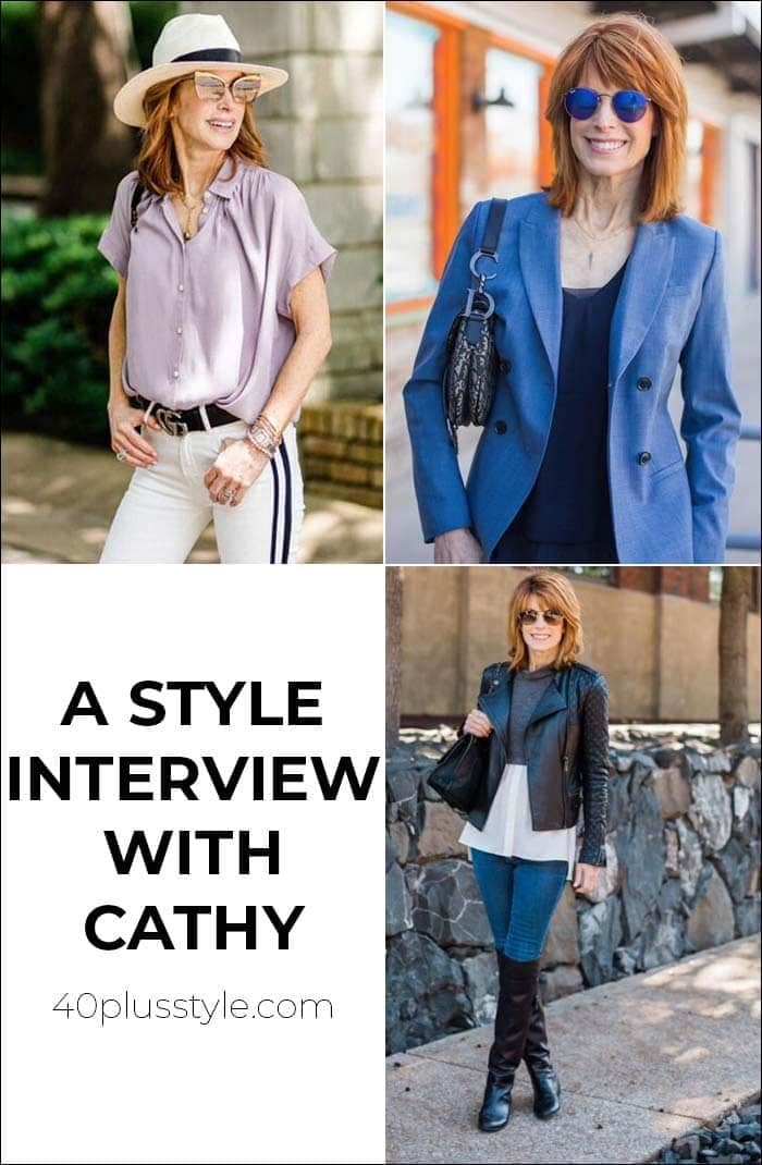 A style interview with Cathy | 40plusstyle.com