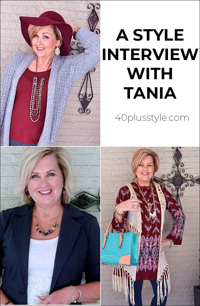 A style interview with Tania | 40plusstyle.com