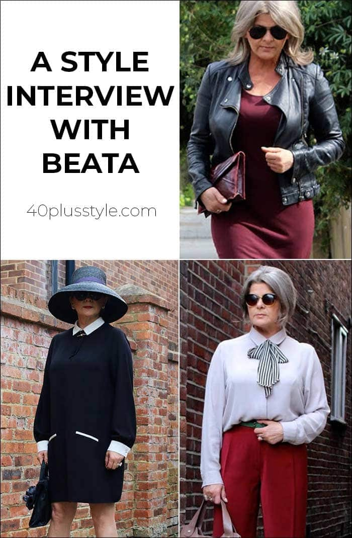 A style interview with Beata | 40plusstyle.com