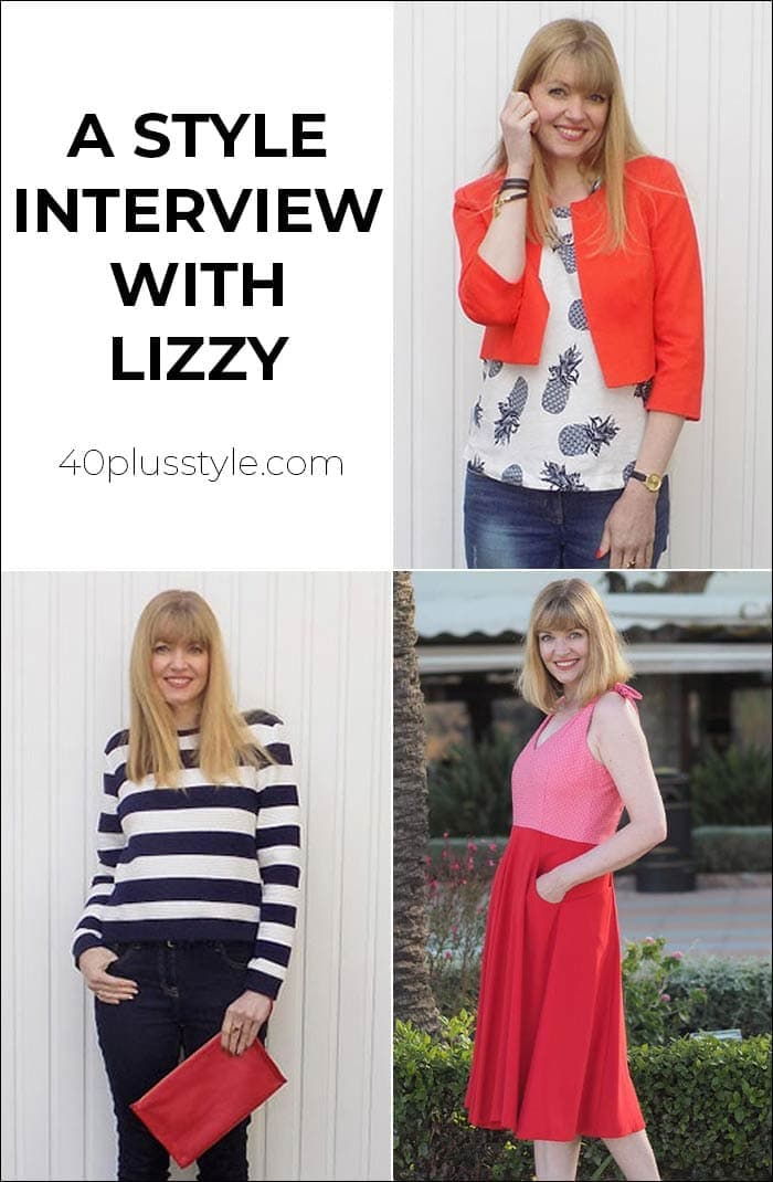 A style interview with Lizzy | 40plusstyle.com