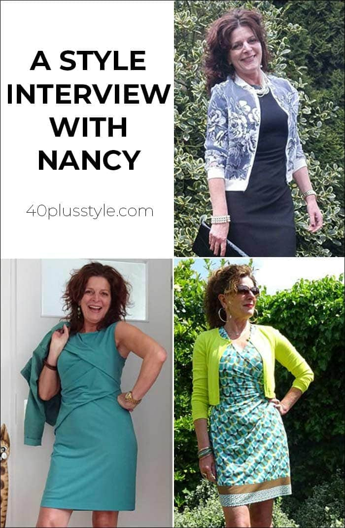 A style interview with Nancy | 40plusstyle.com