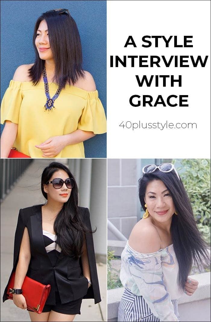 A style interview with Grace | 40plusstyle.com