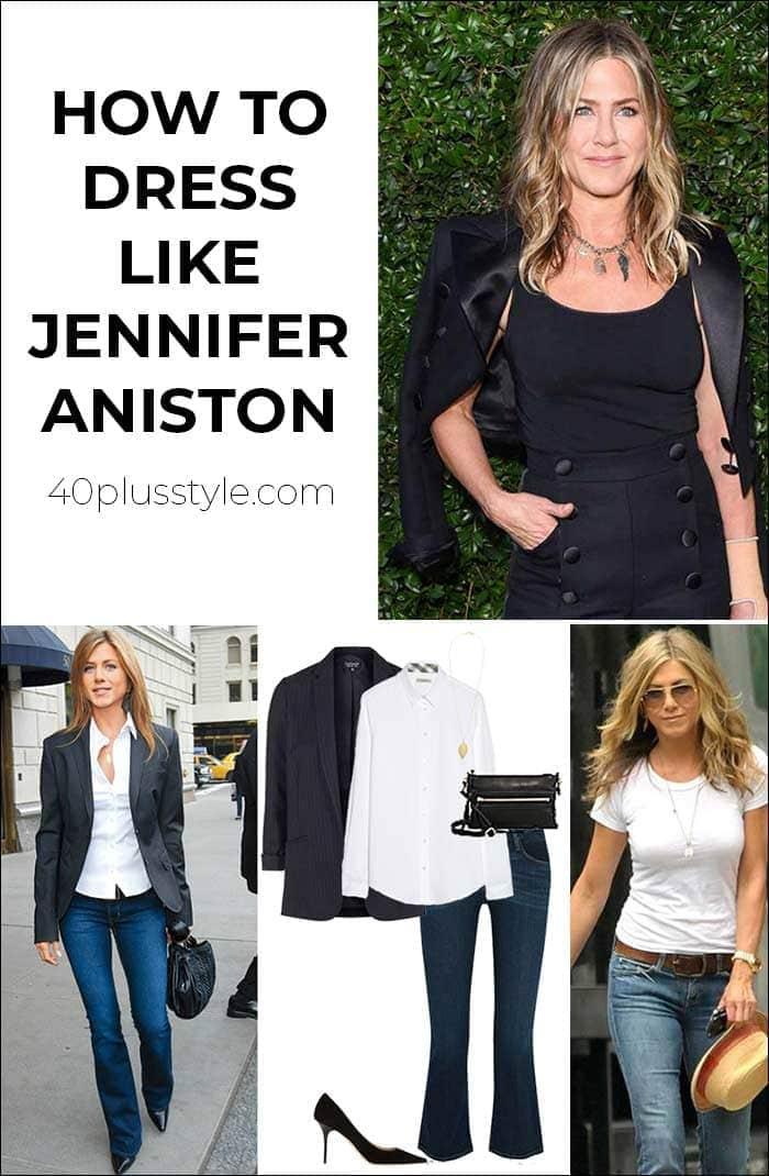 How to dress like Jennifer Aniston   40plusstyle.com