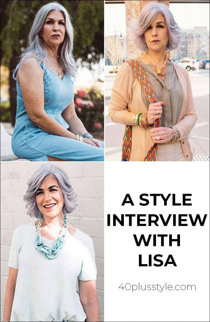A style interview with Lisa | 40plusstyle.com