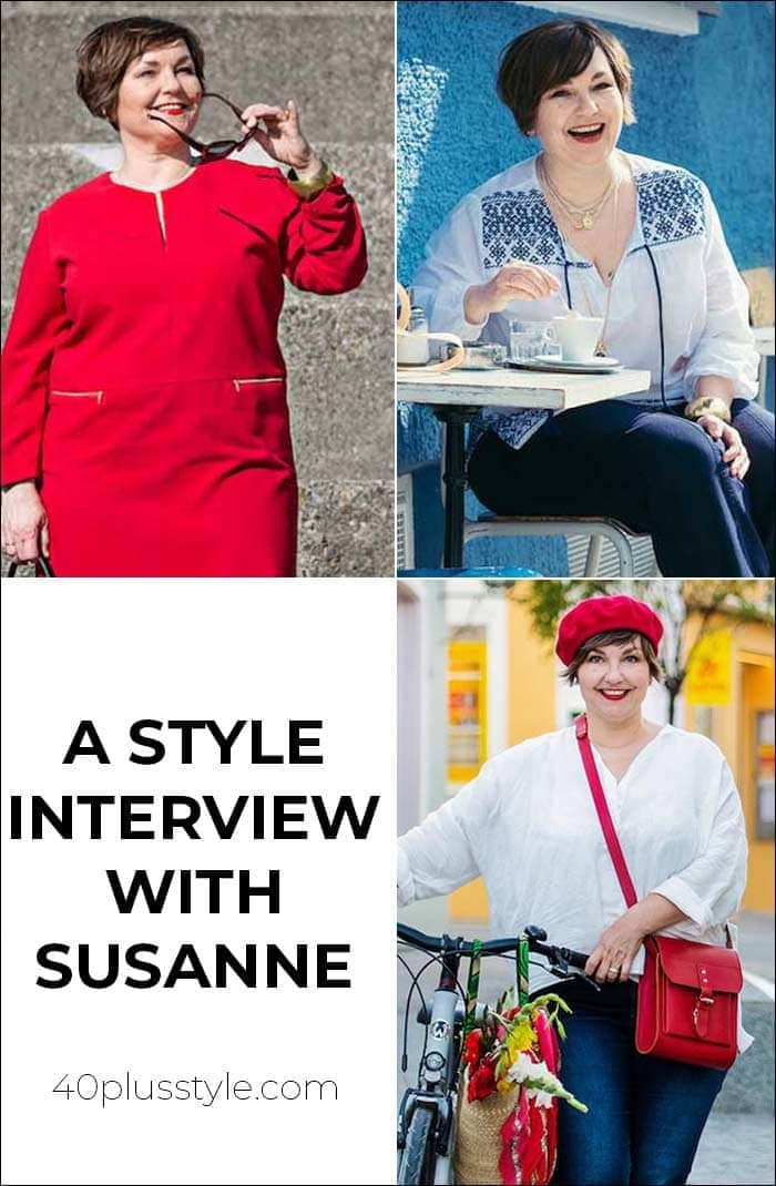 A style interview with Susanne | 40plusstyle.com