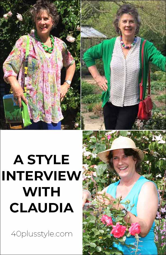 A style interview with Claudia | 40plusstyle.com