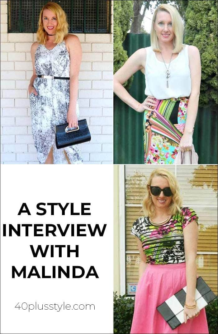 A style interview with Malinda | 40plusstyle.com