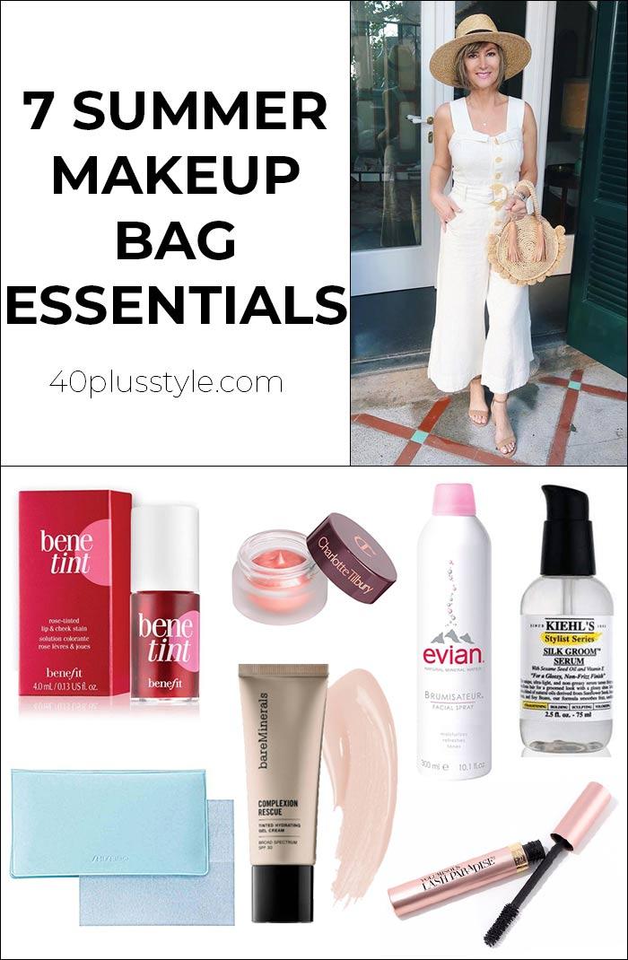 7 summer makeup bag essentials   40plusstyle.com