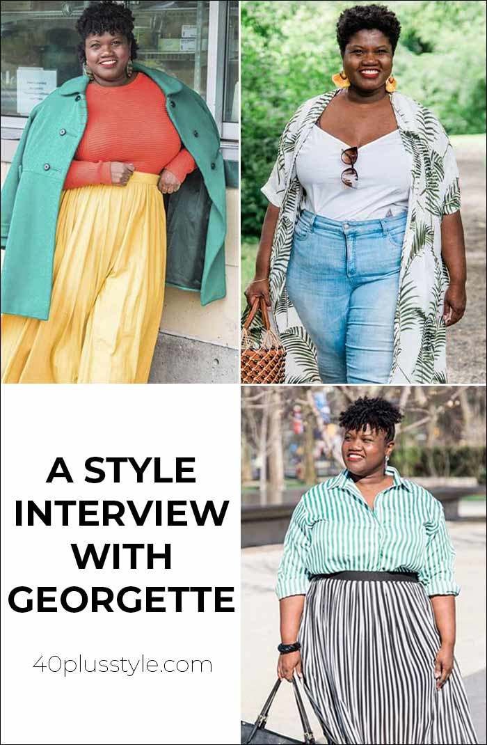 A style interview with Georgette | 40plusstyle.com