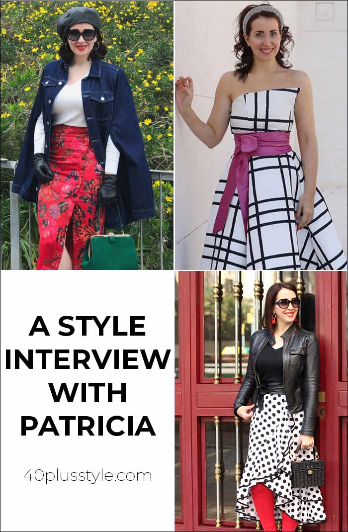 A style interview with Patricia | 40plusstyle.com