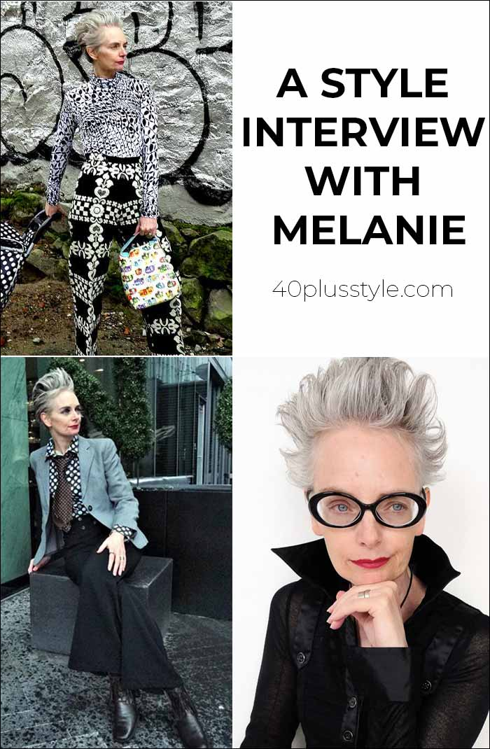 How to be more creative with your outfits: a Style Interview with Melanie Kobayashi | 40plusstyle.com