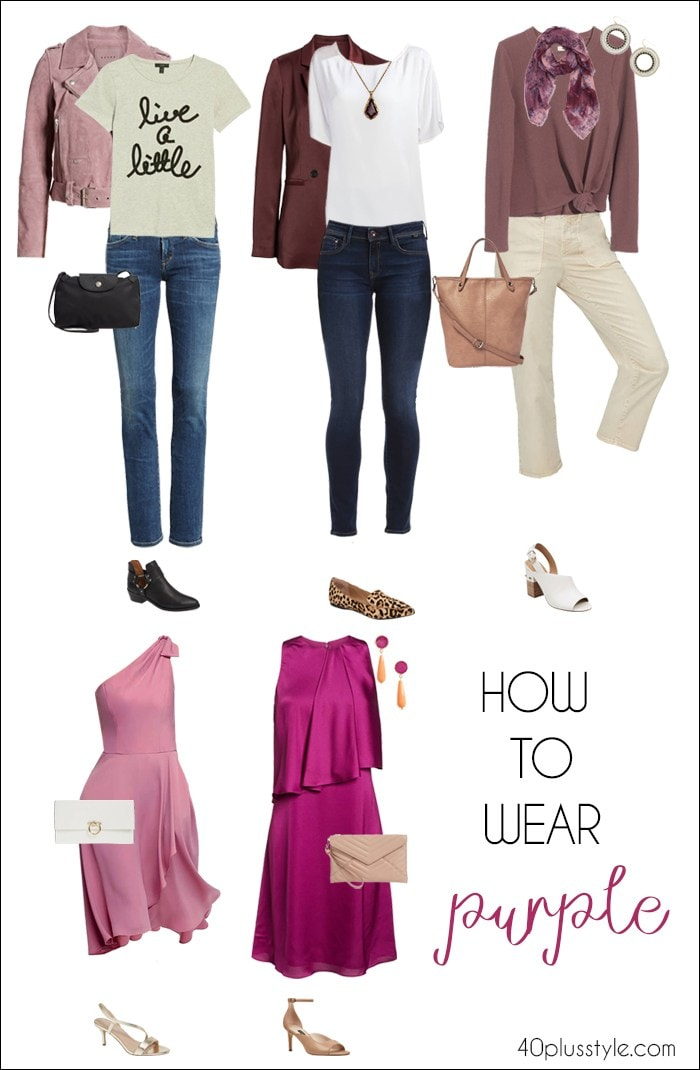 How to wear purple | fashion over 40 | style | fashion | 40plusstyle.com