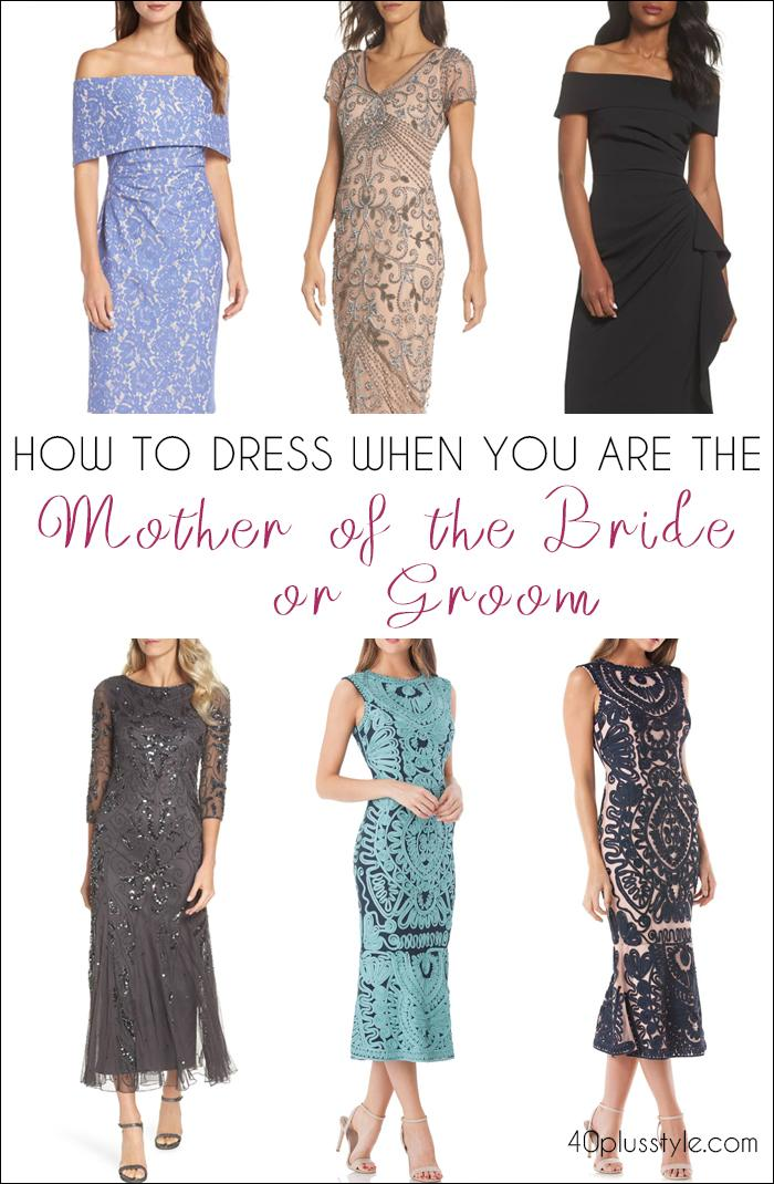 how to dress when you are the mother of the bride | 40plusstyle.com