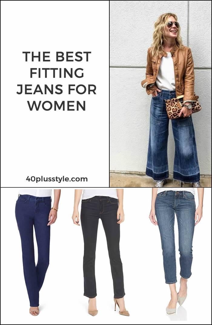 best fitting jeans for women | 40plusstyle.com