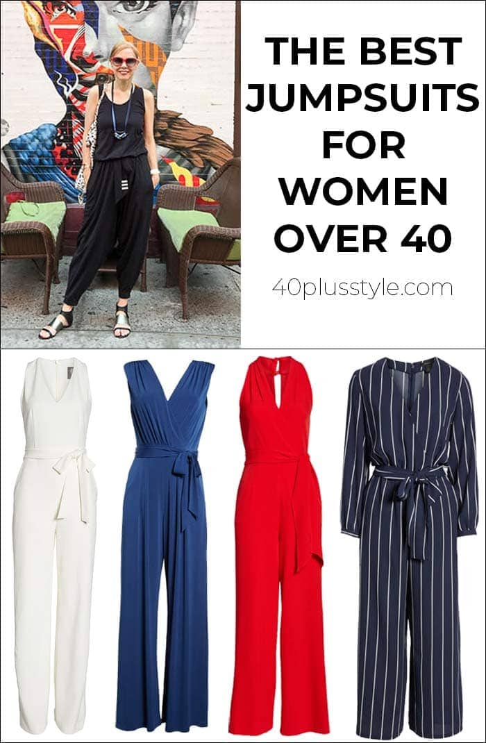 the best jumpsuits for women over 40 | 40plusstyle.com