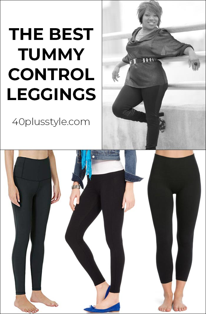 The best tummy control leggings to give you a smoother look | 40plusstyle.com