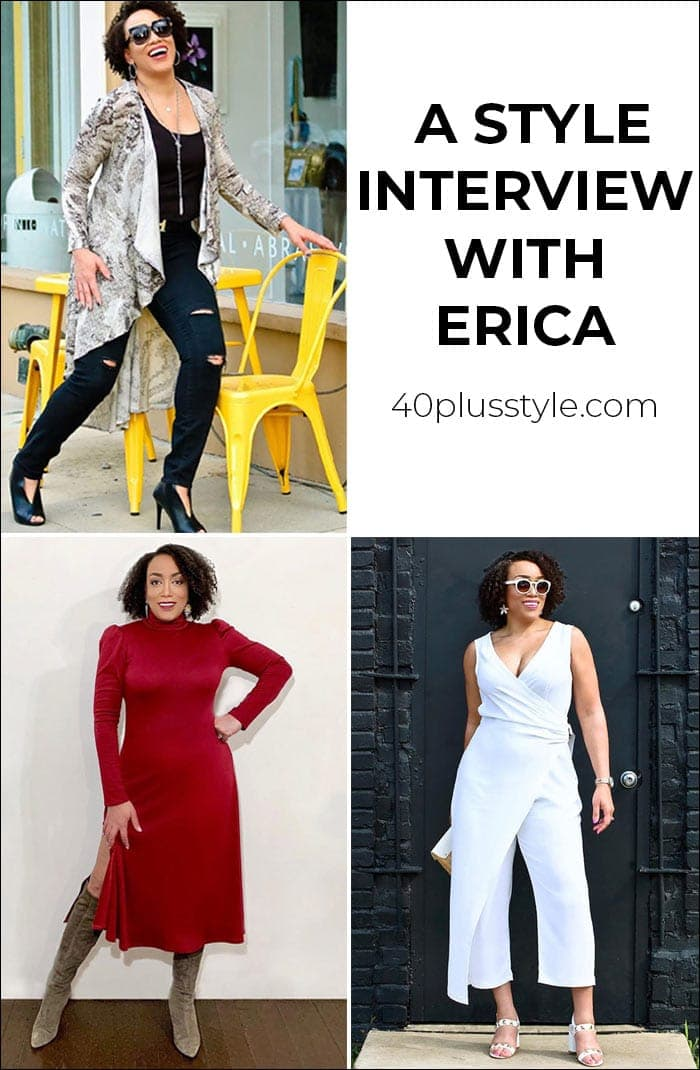 A style interview with Erica | 40plusstyle.com